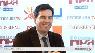 Colloque NPA-Le Figaro 2015 : Sébastien Soriano, ARCEP