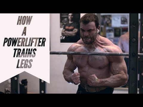 WORLD-RECORD POWERLIFTER TRAINS LEGS FOR BODYBUILDING