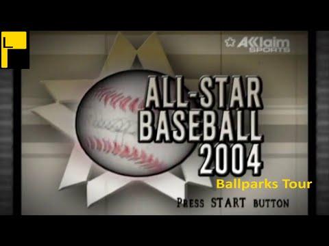 All Star Baseball 2004 Stadiums