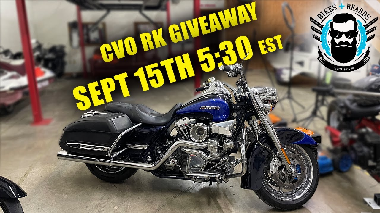 CVO Bike give away RIGHT NOW !!!!!!
