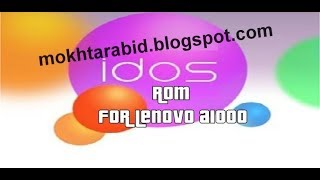 How To Install IDOS ROM On Lenovo A1000 [ROM] [5.1] + Short Review