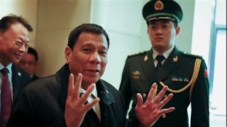 Philippines' Duterte to China: 'We Need Your Help'