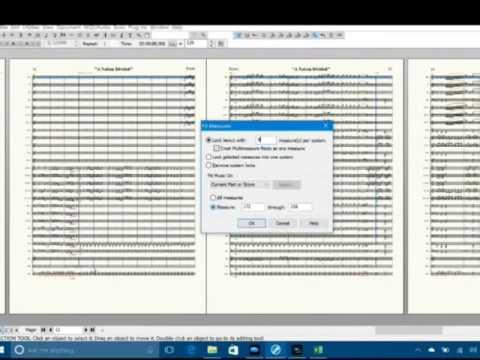 How To Make A Full Score Publishable (Advanced Finale)
