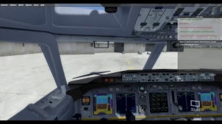 P3D perpar 3D SINGAPORE airways FINAL LANDING ON SOEKARNO HATTA, boeing 787 dreamliner