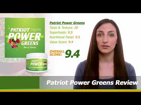 Patriot Power Greens Review Must Watch This Before Buying‎