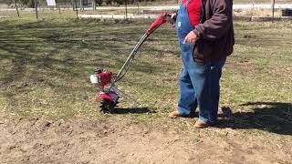 Review of the Mantis 4-Cycle Tiller/Cultivator.