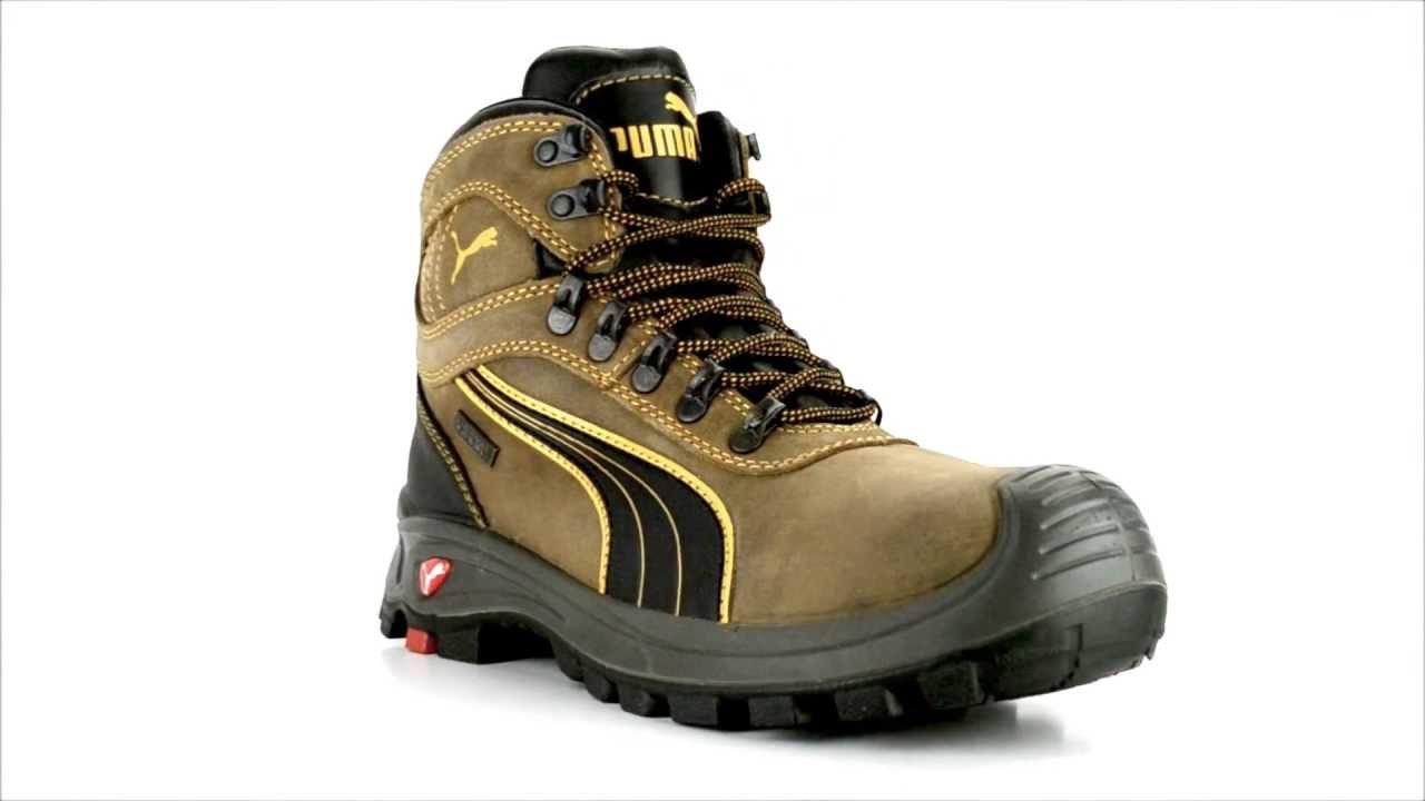 c3e928c724ce Men s Puma 630225 Composite Toe WP Work Boot - YouTube