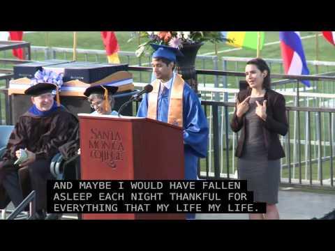 Santa Monica College 2013 Graduation Fahem Ali