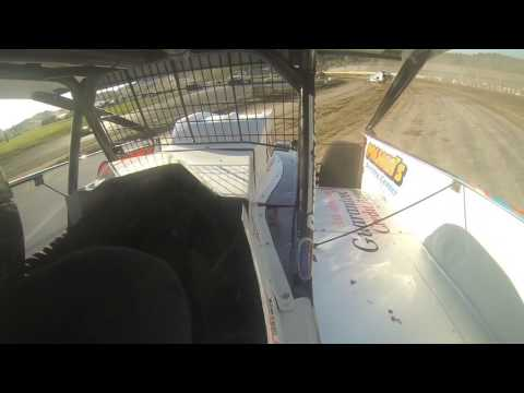 2016.07.02 Jeremy Pitts Modified Warm Up at Fonda Speedway