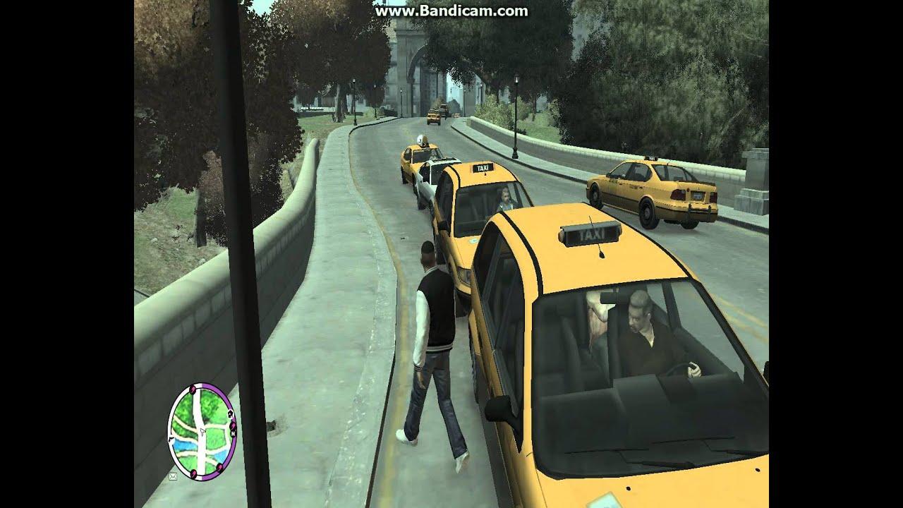 Gta Iveflc In Ein Taxi Steigen Deutsch Youtube