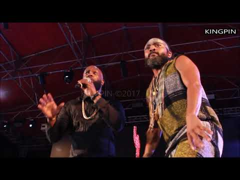 MACHEL & BUNJI GARLIN - PERFORMANCE AT ONE LOVE CONCERT BARBADOS 2017