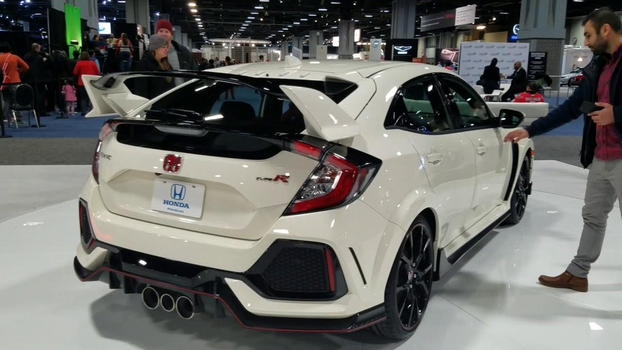 2019 Honda Civic Type R At 2018 Washington Auto Show