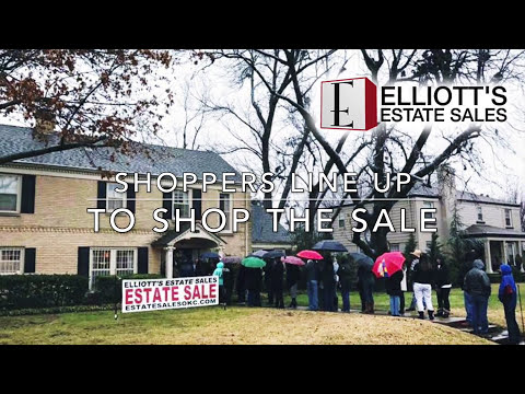 Before and After: A Total Estate Sale Liquidation - Elliott's Estate Sales