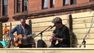 Graeme Hay performing Love is the Law with Chris Helme