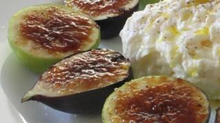Fig Brulee Recipe - How To Brulee Fruit