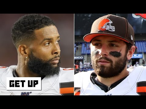Blame Baker Mayfield for Odell Beckham Jr.'s struggles - Jonathan Vilma | Get Up