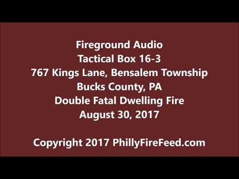 8-30-17, 727 KIngs Ln, Bensalem, Bucks County, PA, Fatal Dwelling Fire