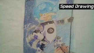 Desenho rápido Scrat:A Era do Gelo Big Bang (Fernando)/Drawing Scrat:Ice Age/Dibujo Scrat:Ice Age