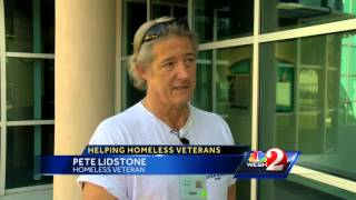 Leaders focus on getting homeless veterans off the streets