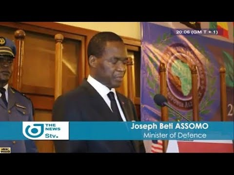 STV - THE 08:00 PM NEWS - (MINDEF LAUNCHES AFRICAN SEMINAR over  SECURITY) - Monday 18th June 2018