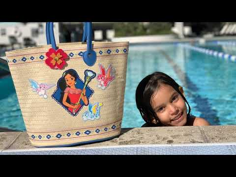 Plaj Çantamda NE VAR? Havuz Başında Çantamı Boşalttım LOL Bebek Oyuncak Squishy jojo siwa