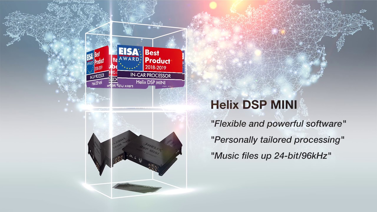 EISA Award for HELIX DSP MINI and MATCH UP 7BMW! | News
