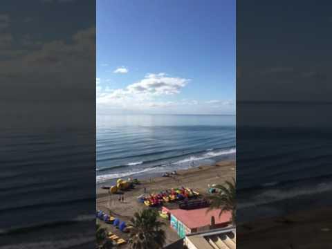 Blick vom Balkon in einem Apartment des Atlantic Beach Clubs