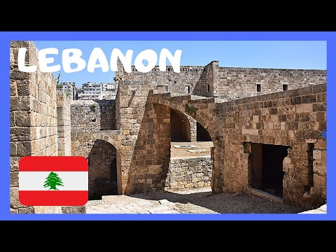 EXPLORING LEBANON & the historic CRUSADER CASTLE (or CITADEL) in TRIPOLI