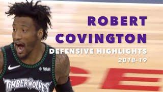 Robert Covington Defensive Highlights | 2018-19 Season | MN Timberwolves