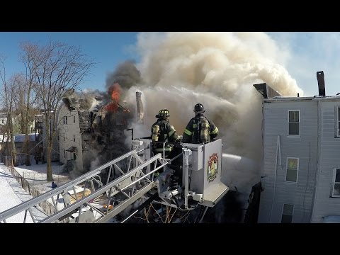 Hanover St. Fire (Bridgeport, CT) 2/27/15 Long Version