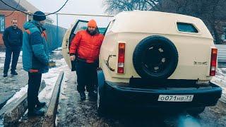 Нашли в деревне ГНИЛОЙ БРОНЕВИК, а внутри СЮРПРИЗ - Волга Губернатора