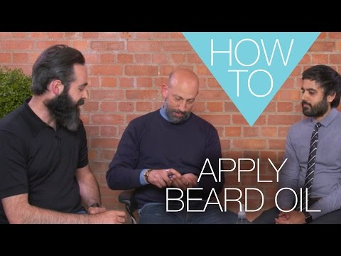 How to apply beard oil with Chris Chassaeud | Men's skincare tutorial