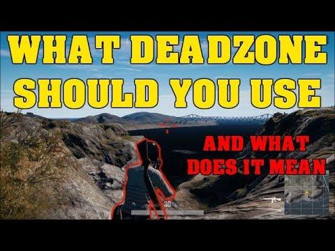 what is deadzone sensitivity pubg xbox