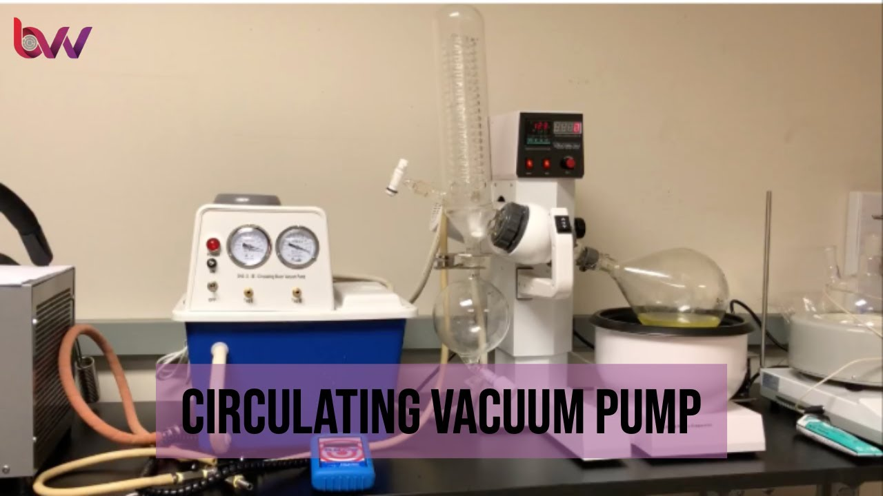 5l solvent pro rotary evaporator kit with bvv water circulation vacuum pump [ 1280 x 720 Pixel ]