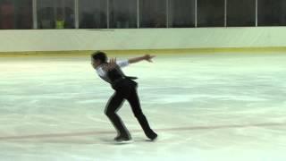 24 Keiji TANAKA (JPN) - ISU JGP Sencila Bled Cup 2012 Junior Men Fr...