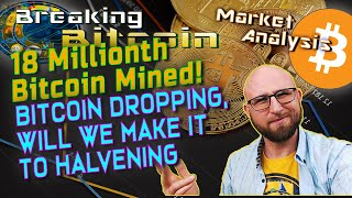 Bitcoin Price Explained - Bitcoin Halvening Price Predictions and Live Trading! Only 3 MIL BTC Left!