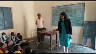 Surprise visit at Kasturba Gandhi Balika Vidyalaya Bajuheri