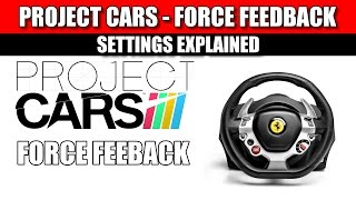 Project CARS: Force Feedback Explained - How to set it up