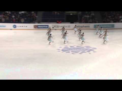 Finlandia Trophy 2013 synchronized skating: Revolutions