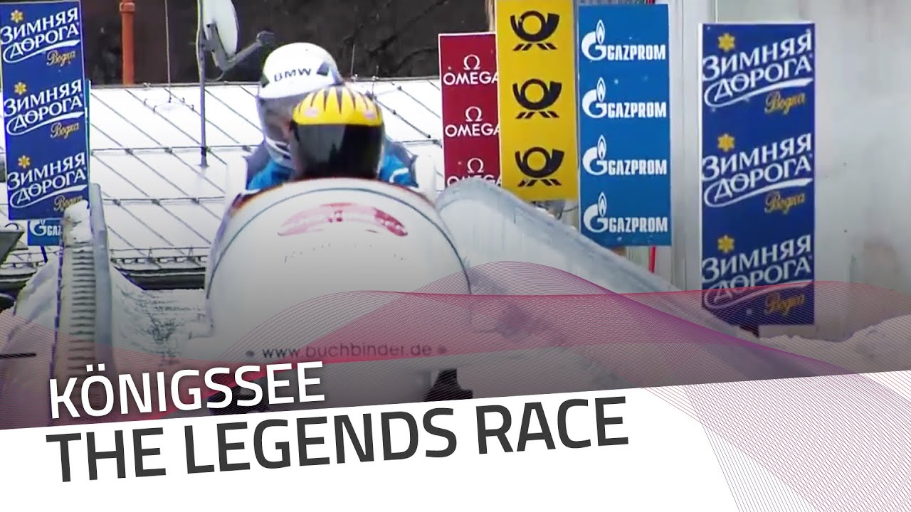 Königssee welcomes the 'legends race' | ibsf official