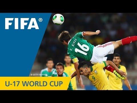 Mexico top Brazil in U-17 marathon