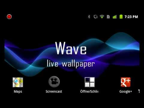 Wave - A Live Wallpaper for Android