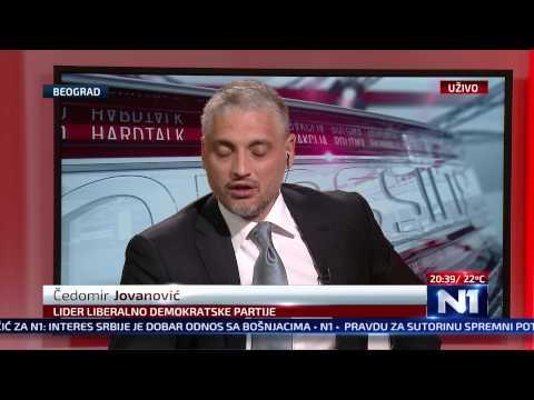 N1 Pressing: Ejup Ganić i Čedomir Jovanović 13.05.2015.