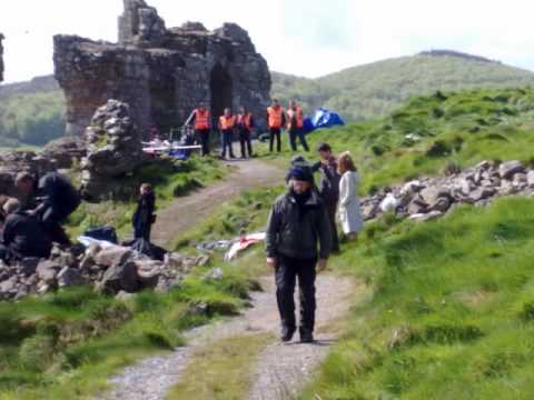 makeing of leap year on location rock of dunmasc .co laoise