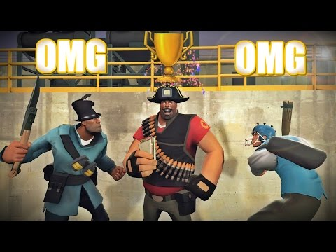 TF2: Exploring ACHIEVEMENT Servers In 2017!!!
