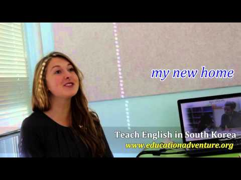 Real life, real story from our ESL Teacher in South Korea 1- Hannah