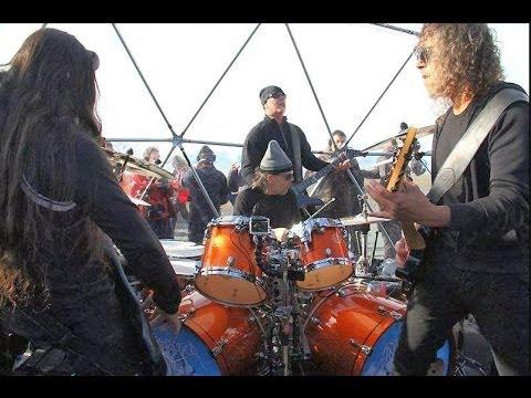 Metallica - One  live in Antártida (metallica en antartida coca - cola )