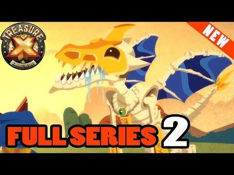 Treasure X SERIES 2 💀 ALL EPISODES   Cartoons for Children