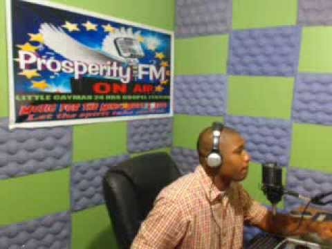 ''PRAISE WITHOUT LIMIT'' 05,01, 2014 ON PROSPERITY FM IN CAYMAN WITH DJ ROBERT