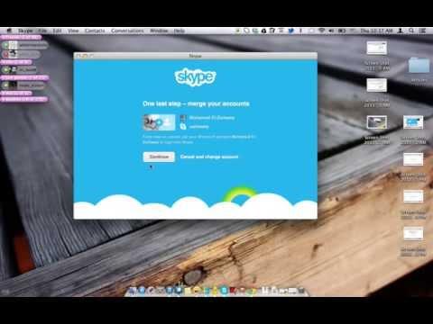 Merge Windows Live Messenger With Skype Account